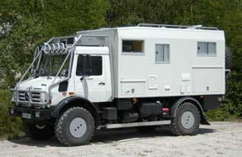 La galerie unimog - Location terrain pour camping car ...